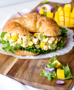 Mango Curry Chicken Salad | Culinary Cool
