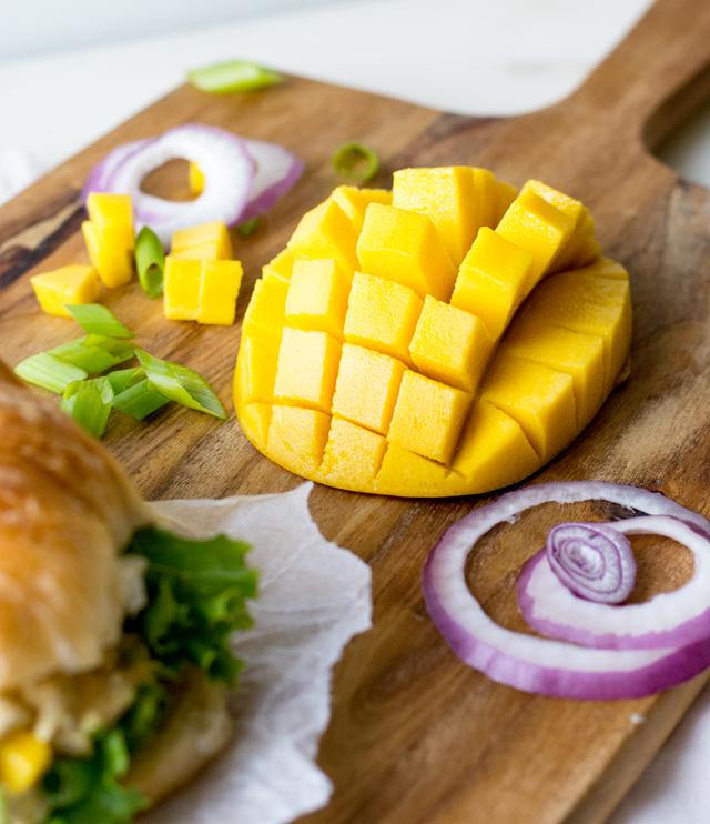 Mango Curry Chicken Salad | Culinary Cool