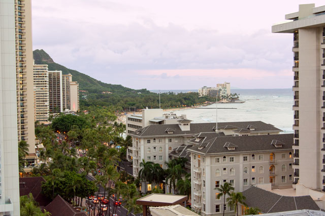 Waikiki Beach Sunrise   Culinary Cool