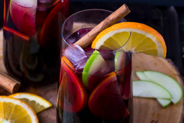Spiced Fall Sangria | Culinary Cool