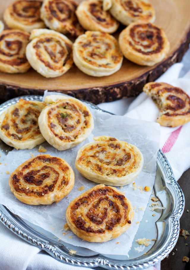 Sausage and Lentil Pinwheels | Culinary Cool