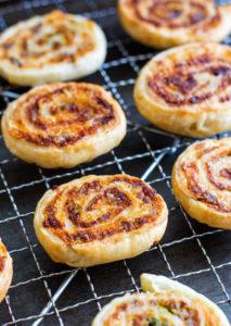 Sausage and Lentil Pinwheels