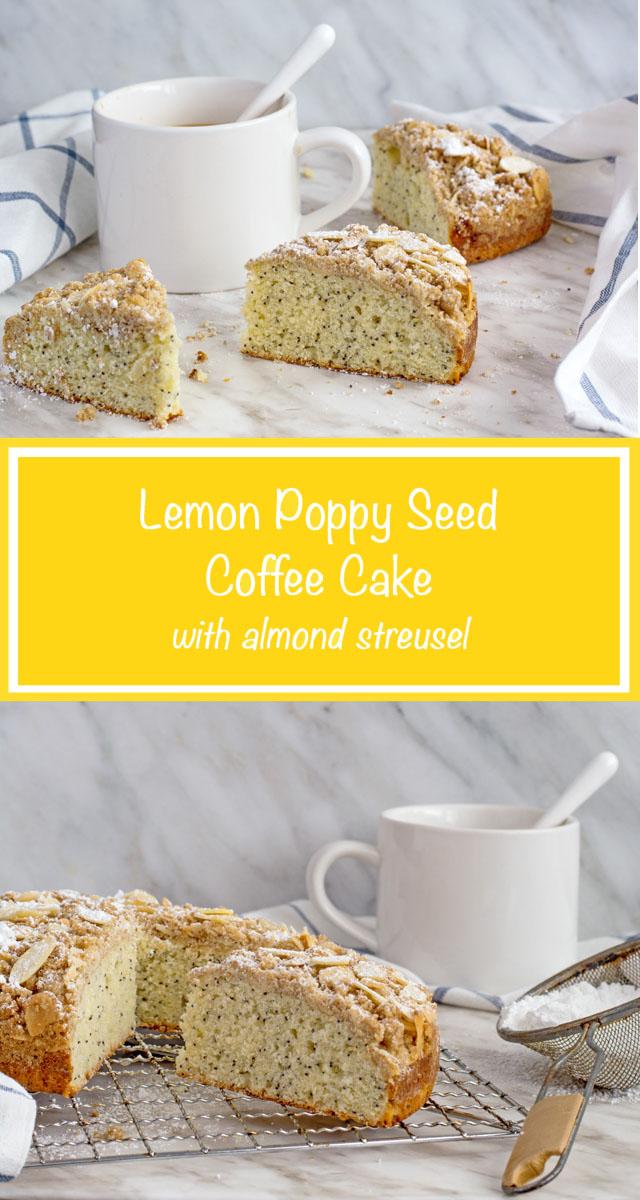 Lemon Poppy Seed Coffee Cake | Culinary Cool www.culinary-cool.com
