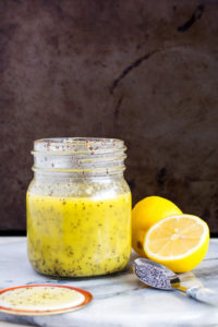 Lemon Poppyseed Vinaigrette | Culinary Cool www.culinary-cool.com