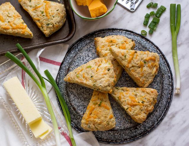 Cheddar Buttermilk Scones | Culinary Cool www.culinary-cool.com