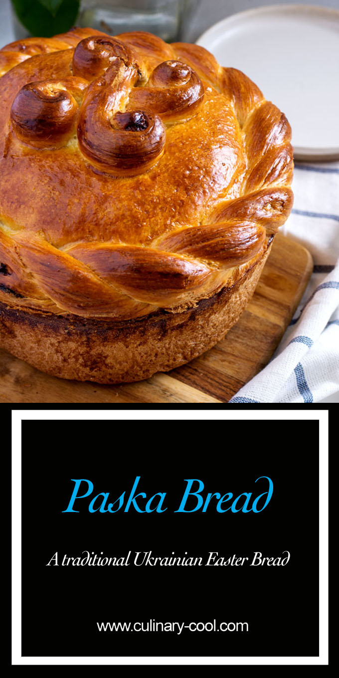 Easter Paska Bread | Culinary Cool www.culinary-cool.com