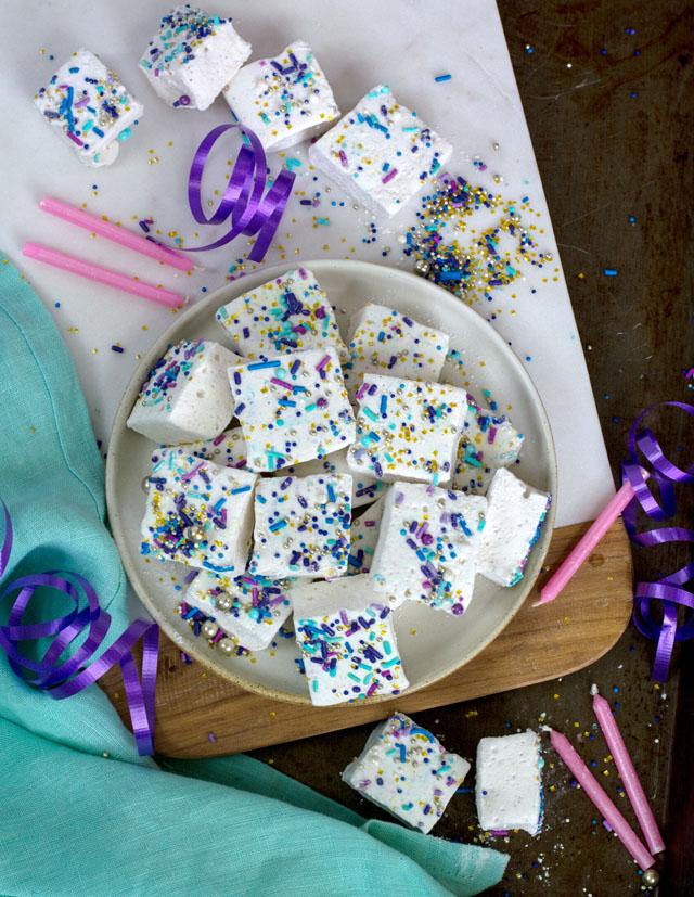 Boozy Birthday Cake Marshmallows   Culinary Cool