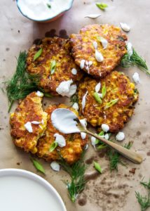 Classic Cheesy Corn Fritters