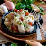 Warm Potato Salad with Blue Cheese and Bacon | Culinary Cool www.culinary-cool.com