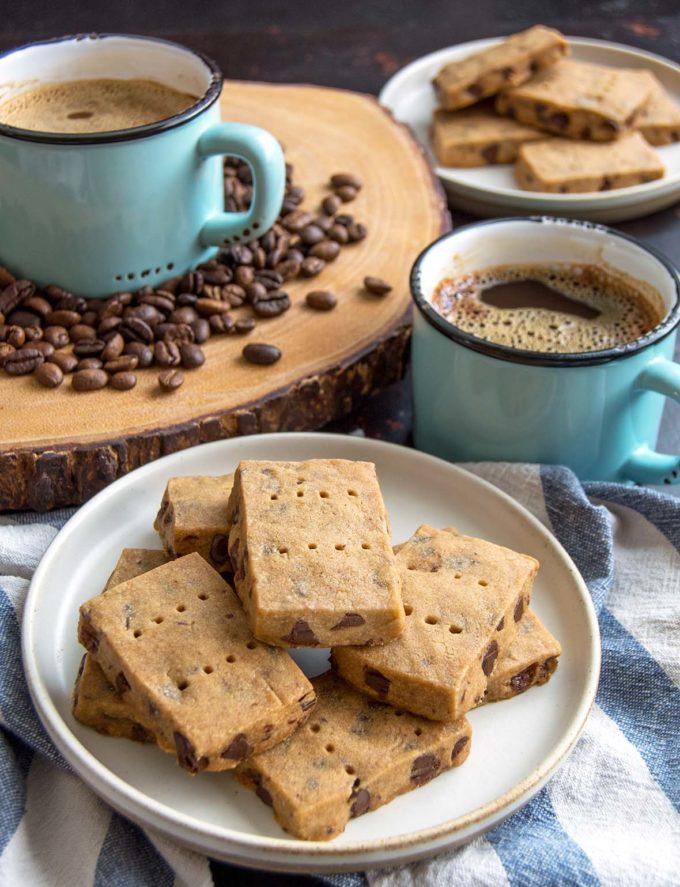Peppermint Mocha Shortbread Cookies   Culinary Cool www.culinary-cool.com