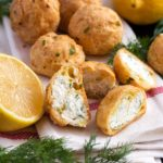 Feta and Dill Gougères | Culinary Cool www.culinary-cool.com