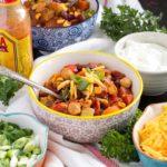 Hearty Vegetarian Chili | Culinary Cool www.culinary-cool.com