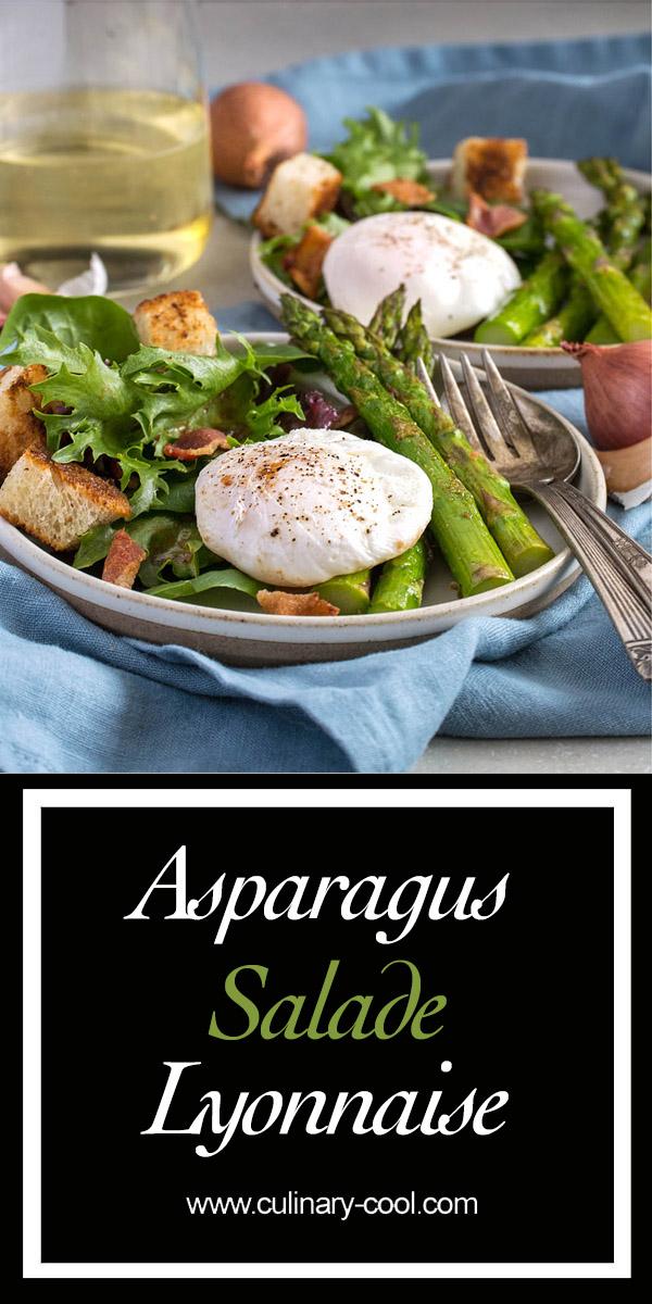 Asparagus Salade Lyonnaise | Culinary Cool | www.culinary-cool.com
