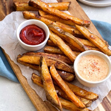 Crispy Baked French Fries | Culinary Cool www.culinary-cool.com