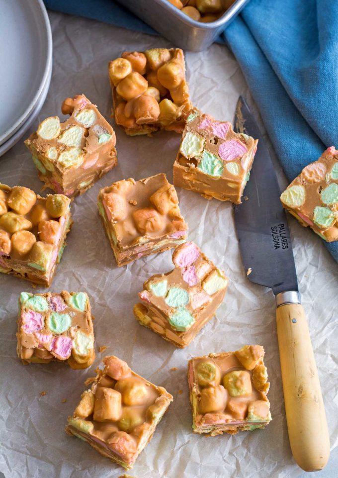 Peanut Butter Confetti Squares | Culinary Cool