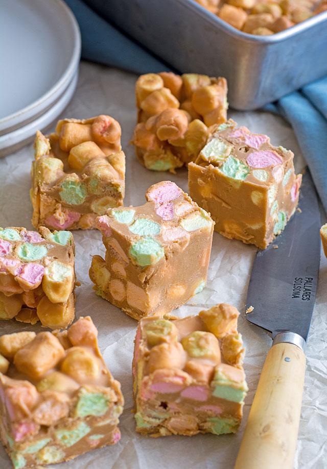 Peanut Butter Confetti Squares | Culinary Cool www.culinary-cool.com