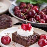 Black Forest Black Bean Brownies | Culinary Cool www.culinary-cool.com