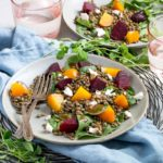 Roasted Beet and Lentil Salad with Goat's Cheese | Culinary Cool www.culinary-cool.com
