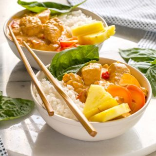 Thai Turkey Coconut Curry | Culinary Cool www.culinary-cool.com