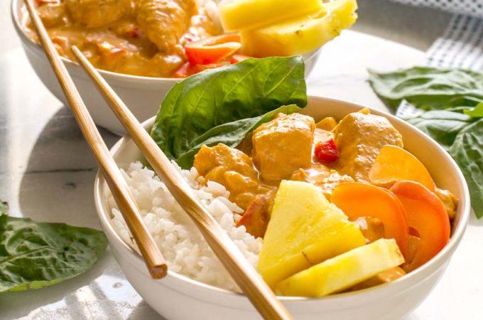 Thai Turkey Coconut Curry | Culinary Cool www.culinary-cool.com