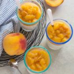 Yogurt Mousse with Sweet Summer Peaches | Culinary Cool