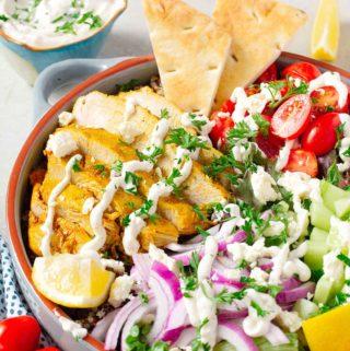 Instant Pot Turkey Shawarma | Culinary Cool www.culinary-cool.com