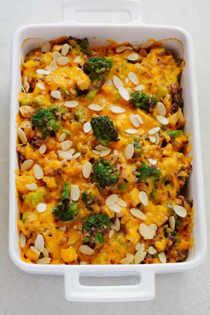 Turkey, Broccoli and Wild Rice Casserole | Culinary Cool