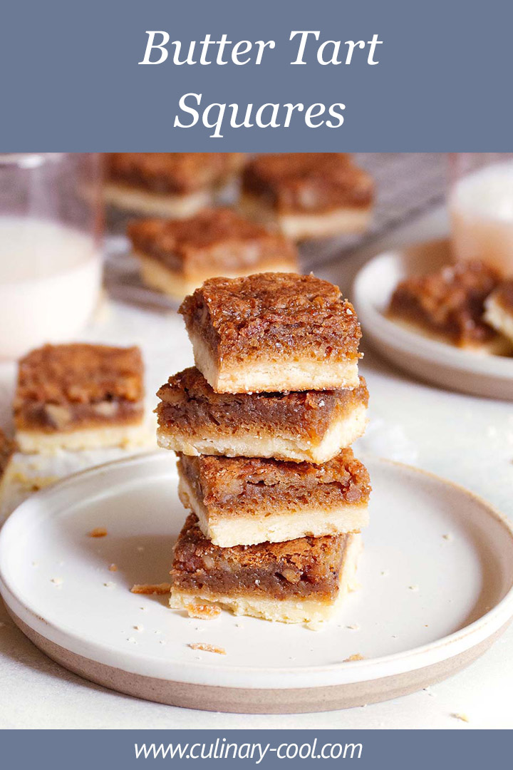 Butter Tart Squares | Culinary Cool