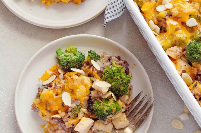 Turkey, Broccoli and Wild Rice Casserole | Culinary Cool www.culinary-cool.com
