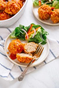 Instant Pot Turkey and Rice Meatballs