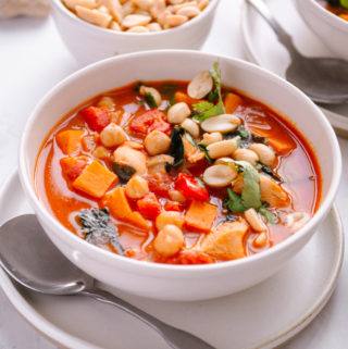 African Inspired Turkey Peanut Stew