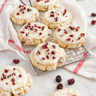 Cranberry Bliss Cookies | Culinary Cool www.culinary-cool.com