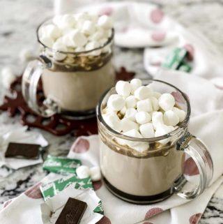 Mint Hot Chocolate Powder Mix | Culinary Cool