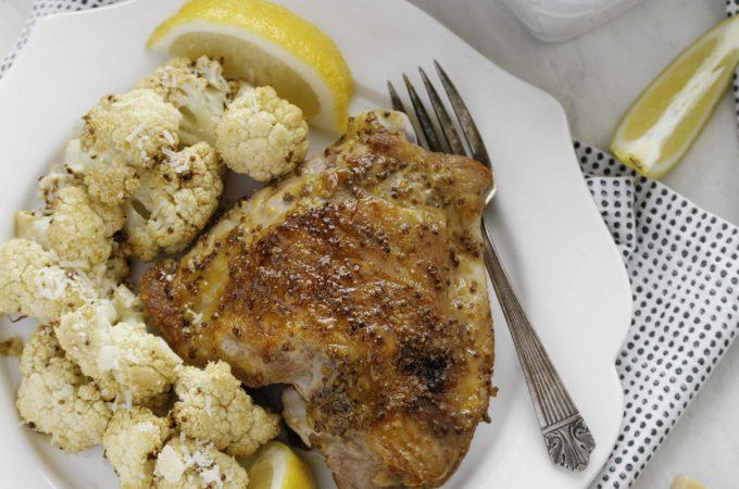 Honey Dijon Turkey Thighs | Culinary Cool