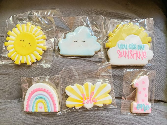 You Are My Sunshine Sugar Cookies