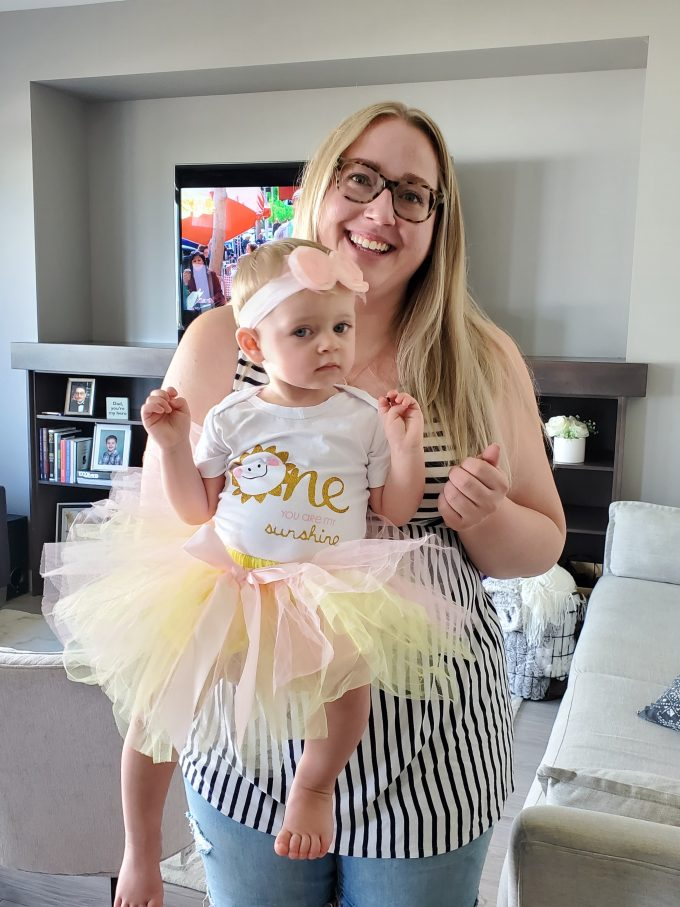 You Are My Sunshine First Birthday Outfit