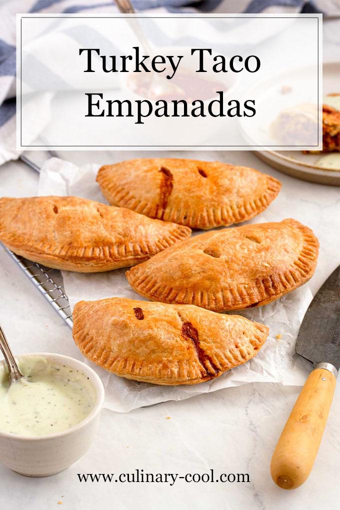 Turkey Taco Empanadas